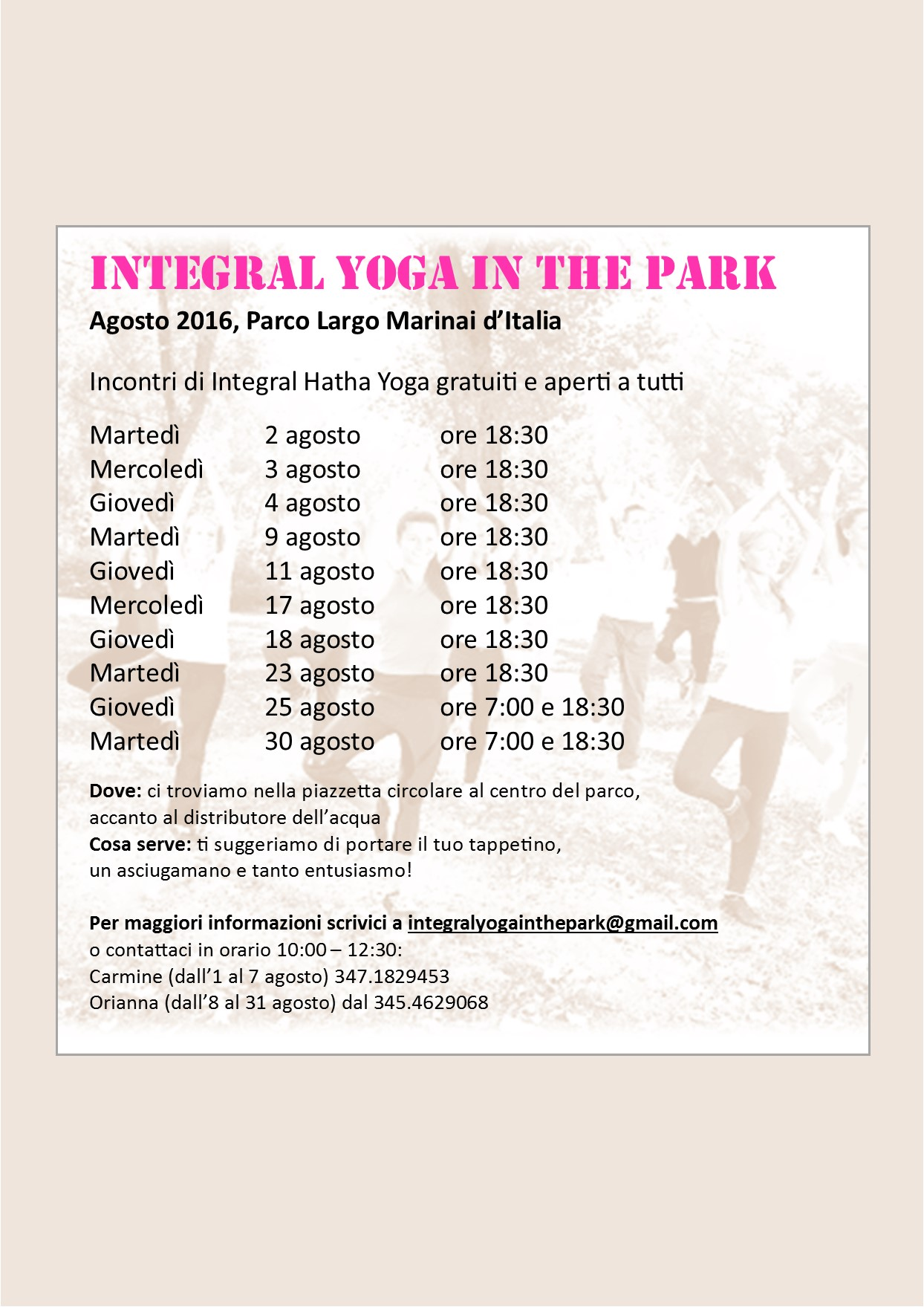 IntegralYogaInthePark2016